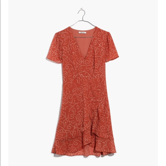 15b8e7e10061 Madewell Dresses & Skirts - Madewell Posey Ruffled Dress in Twisted Vines